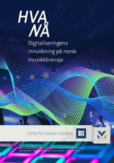Cover Norwegian report about the digitalisation of the music industry