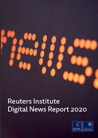 Omslag Digital News Report 2020