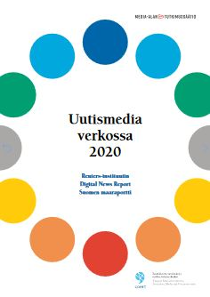Cover Digital News Report 2020 country report for Finland