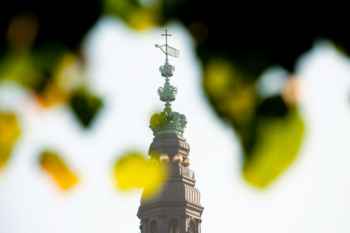 Tower of the Danish parliament.