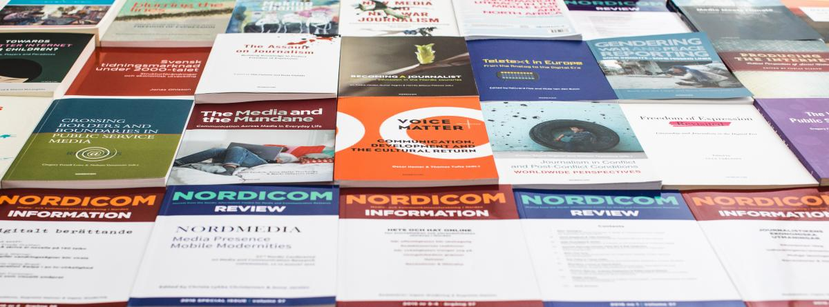 Nordicoms publikationer 2017