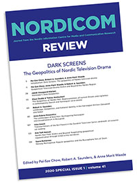 Omslag Nordicom Review Special Issue