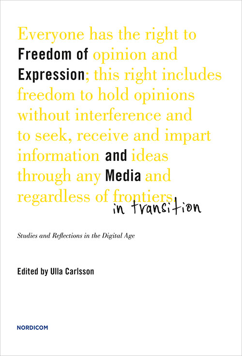 freedom of media Freedom of the press and journalistic ethics is an important topic today in india — with the word 'press' encompassing the electronic media also.